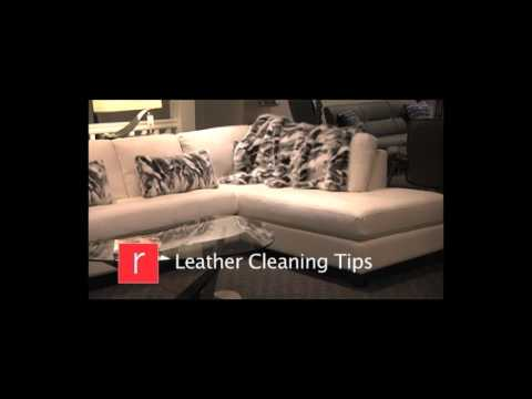 How to Clean Your Leather Furniture: Rosenthal's Video Tips