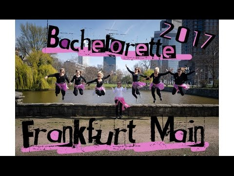 Insane Bachelorette Trip to Frankfurt l Germany