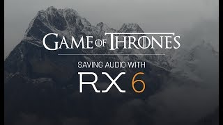 A Game of Post: Engineers Talk Audio Challenges on Game of Thrones