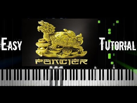 Separ - Fénix ft. Dame & Kali & Infinit - Piano EASY Tutorial - Synthesia