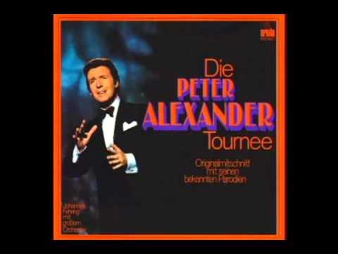 Peter Alexander - Hier ist ein Mensch - Karaoke (instrumental version)