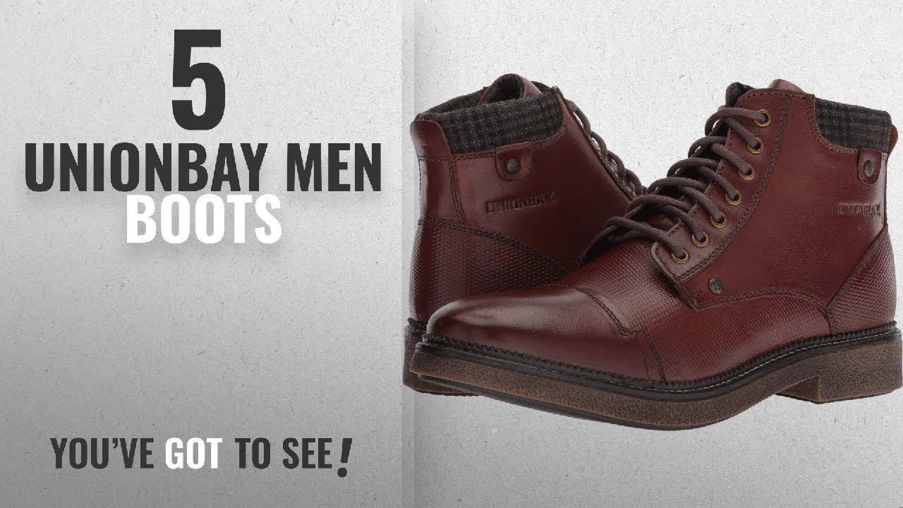 Top 10 Unionbay Men Boots [ Winter 2018 ]: UNIONBAY Men's Parker Bordeaux 9  M US