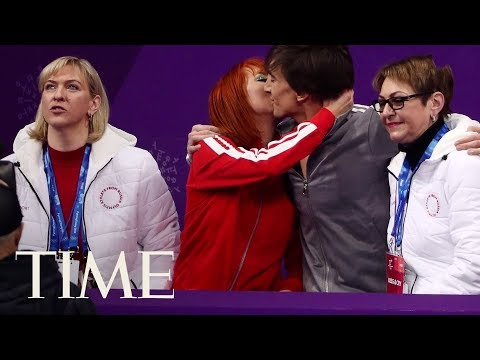 What Is The 'Kiss & Cry' In Olympic Figure Skating? Emotional Moments Of The 2018 Olympics   TIME