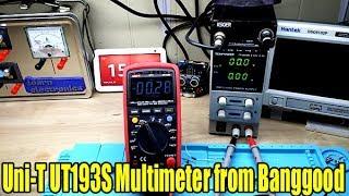 uni T UT139S Multimeter Review & Tear Down