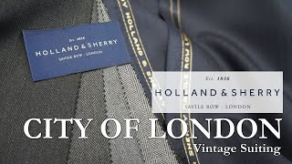 """Holland&Sherry """"City Of London"""""""