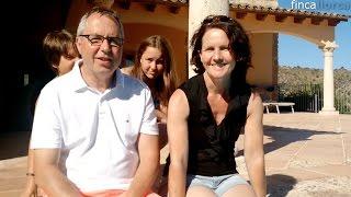 Martin und Familie auf der Finca Pablo