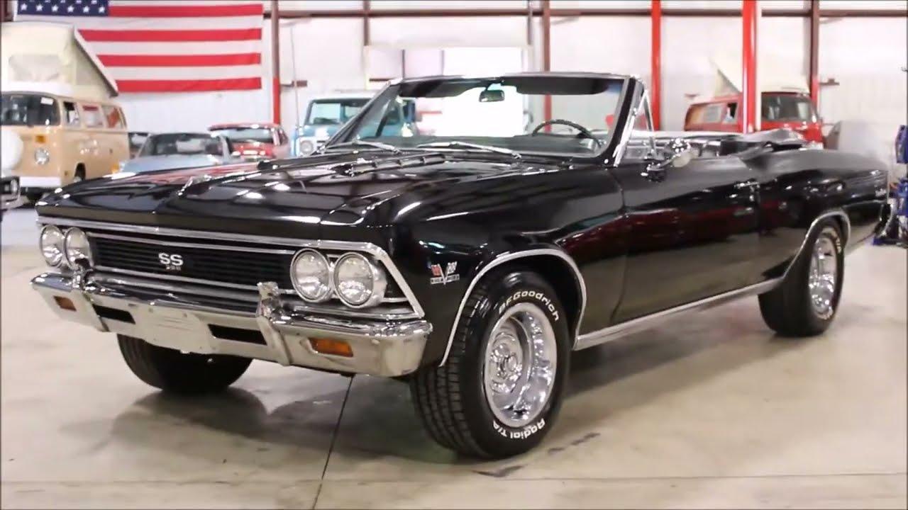 1966 chevy chevelle malibu black