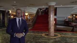Presentation of the luxury Grand Hotel Huis ter Duin