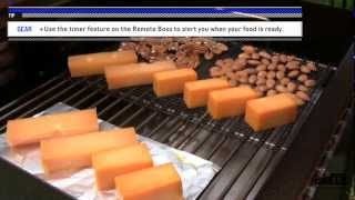 Cold smoking cheese & nuts on the MAK Grill