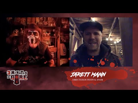 3 minutes de gore | Spécial quarantaine | Jarrett Mann et le SPASM live Spécial Horreur sur Facebook