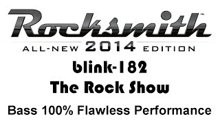 "blink-182 ""the Rock Show"" Rocksmith 2014 bass cover pick"