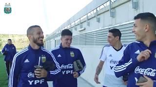 Continúa la puesta a punto de la Selección Argentina pensando en Venezuela