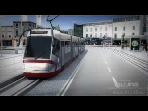 GCBG - Galway Light Rail - GLUAS - Galway City Council 3D Animated Presentation - 2008