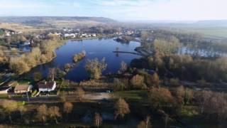 Gamaches les étangs de l'èpinoy en Drone