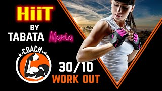 TABATA 30/10 - Workout music w/ TIMER - Future by TABATAMANIA