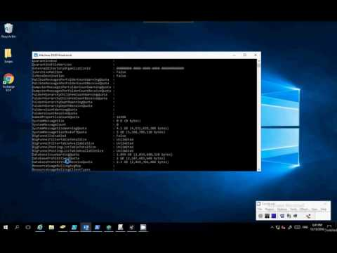 View User Mailbox Size Using PowerShell Exchange Server 2016