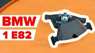 Montering Bremsebelegg BMW 1 Coupe (E82): gratis video
