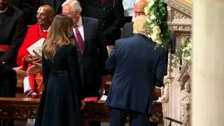 President Trump Thanks Church Members At National Prayer Service In Washington DC(, 2017-01-21T16:59:11.000Z)