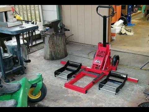 Fischer Pro Series Mower Atv Lift Part 2 Harbor