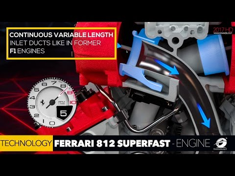 HOW IT'S MADE - NEW Ferrari 812 Superfast V12 + 800 HP | ENGINE