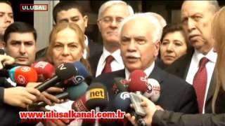 Ergenekon davası temyiz duruşması sonrası Perinçek'ten açıklama