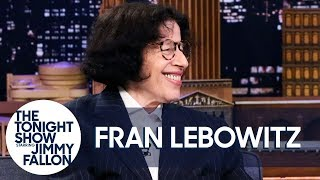 Fran Lebowitz Tries to Not Talk About Her Netflix Series withMartin Scorsese