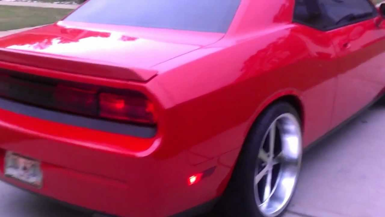 My 2010 Challenger R T On 22 Quot American Racing Novas Youtube