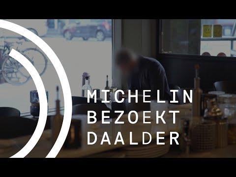 Michelin bezoekt Dennis Huwae - DAALDER in Amsterdam
