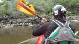 Zambezi Kayaking - Rapid 9 -Commercial Suicide