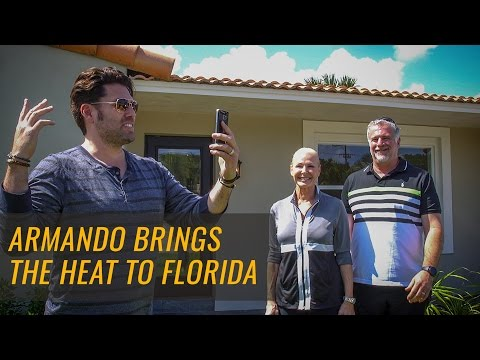 Armando Montelongo - Tours Students' Flipped House in Ft. Lauderdale