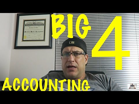 BIG 4 ACCOUNTING FIRMS / DID I WANT TO WORK AT A BIG 4 ACCOUNTING FIRM WHEN I WAS A CPA / ELEVATION