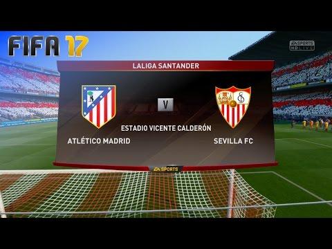 FIFA 17 - Atlético Madrid vs. Sevilla FC @ Estadio Vicente Calderón