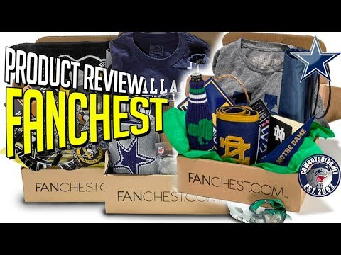 7d1ca4ba3 Fanchest Review with Discount Code | Notre Dame Fanchest Unboxing