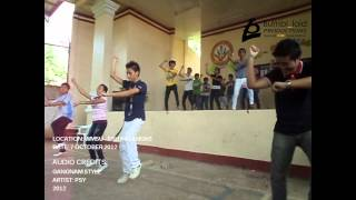 USC dances GANGNAM STYLE - (WMSU - USC visits WMSU MALANGAS)