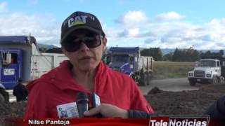 Obras Aeropuerto San Luis Ipiales Julio 2014