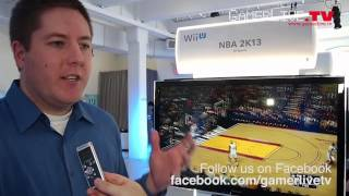 First Look at 2K Sports NBA 2K13 on Nintendo Wii U