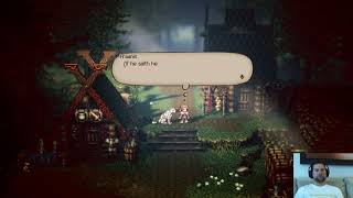 Octopath Traveler Prologue! Part 1: H'annit/Ophilia story.