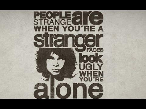 sc 1 st  YouTube & The Doors - People are Strange + Lyrics - YouTube