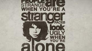 The Doors - People are Strange + Lyrics
