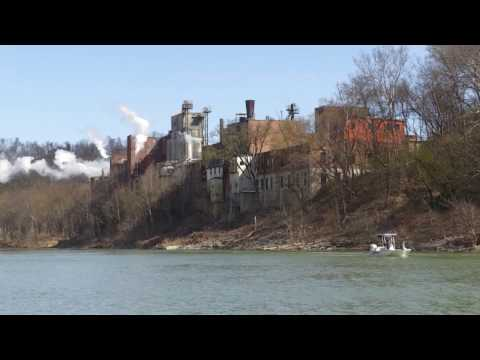 Great Sauger Fishing In Downtown Frankfort, Kentucky