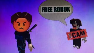 Roblox - Playing Games That Are Free Robux Scams