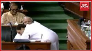 BJP Calls Rahul Gandhi Hug To PM Modi As Theatrics