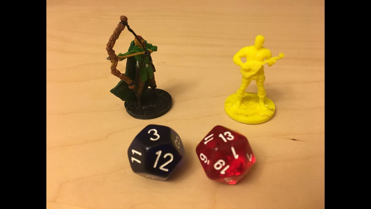 3d printing and painting dungeons and dragons miniatures youtube