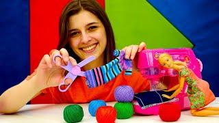 Барби и Смешные видео для девочек. Барби - плохой дизайнер! Истории Барби