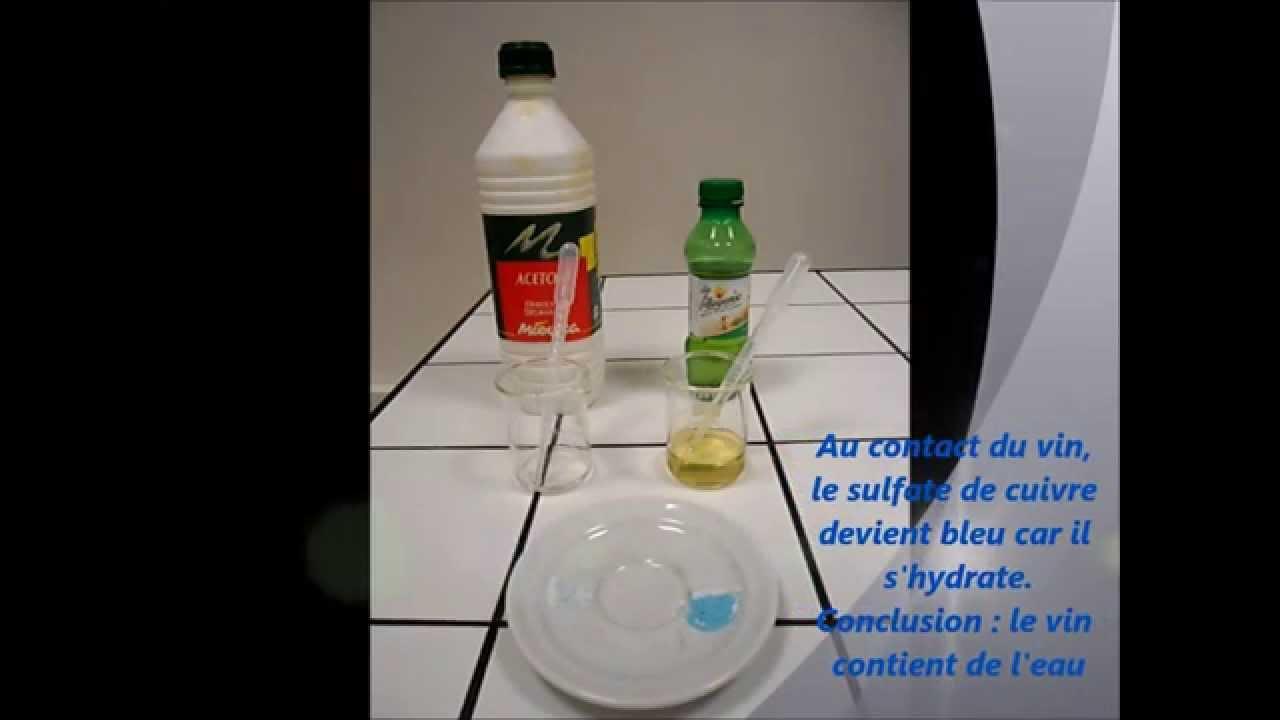 application du test d 39 identification de l 39 eau youtube. Black Bedroom Furniture Sets. Home Design Ideas
