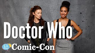 """""""Doctor Who"""" Actors Say There Is No Acting """"Process"""": Comic-Con   Los Angeles Times"""