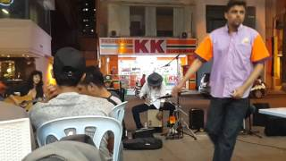 The rock legend band busker gegar bukit bintang