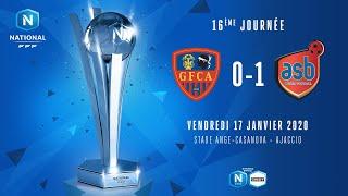 J16 | GFC Ajaccio - AS Béziers ( 0-1), le résumé | National FFF2019-2020