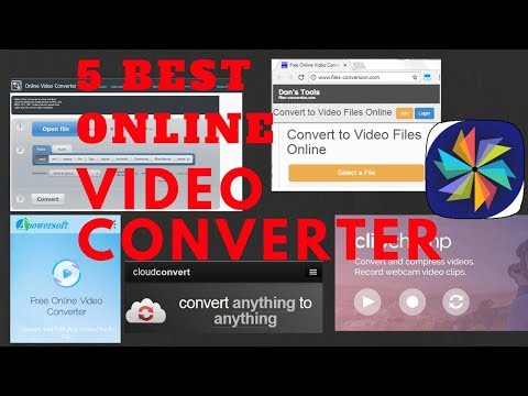 5 Best Online Video Converter 2017 (Free)