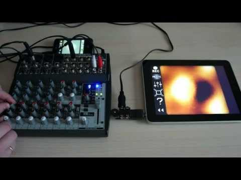 PixiVisor: Using Audio Mixer to Mix Video Signals